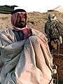 King Khalid with a Falcon.jpg