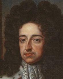 Guglielmo III, particolare di un ritratto di Sir Goeffrey Kneller