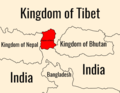 Kingdom of Sikkim map.png