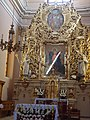 Klasztor kamedułów w Wigrach - ołtarz - obraz Matki Bożej 2.jpg