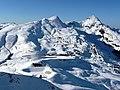 Kleine Scheidegg, Tschuggen, Lauberhorn - panoramio.jpg