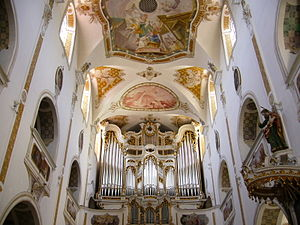 Ursberg Abbey - Image: Kloster Ursberg Orgel