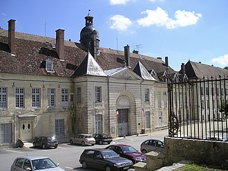 Clairvaux Abbey - Main façade of the abbey