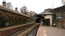 Knaresborough railway station (19th March 2013) 006.JPG