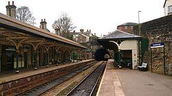Knaresborough railway station (19th March 2013) 006.JPG