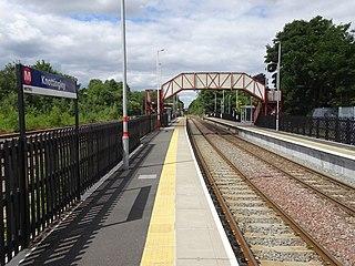 Knottingley railway station Railway station in West Yorkshire, England