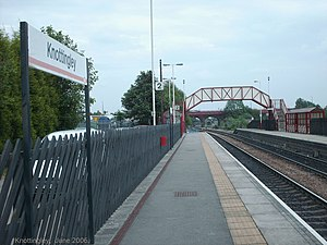 Knottingley railway station - Platform 2