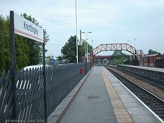 Knottingley railway station