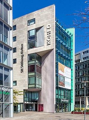 Ensemble Musikfabrik - The KOMED building at MediaPark 7 in Cologne, where Ensemble Musikfabrik is based.