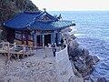 Korea-Naksansa 2137-07 Hong Ryun Am.JPG