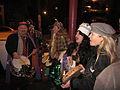 Kosmic Debris King Cake Party 2012 Outside Singing.JPG
