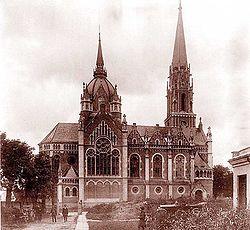 Kostel parafialny Ternopil 09.jpg