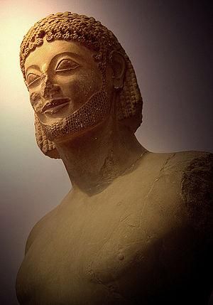 Escultura da Grécia arcaica – Wikipédia, a enciclopédia livre