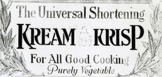 Crisco - Kream Krisp logo