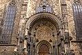 Kristovy pašije - severní portál Týnského chrámu 01(js).jpg