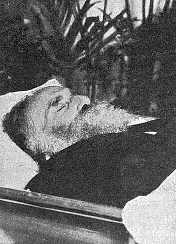 Архип Иванович Куинджи в гробу