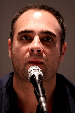 Kurt Metzger - Metzger on Ugly Americans panel in 2010 at San Diego Comic-Con in San Diego, California.