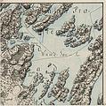 Kvadratmilkart Mil nr 25-nø, 1776.jpg