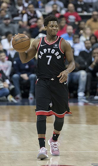 Kyle Lowry - Lowry with the Toronto Raptors in March 2018