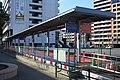 Kyudai-Gakkentoshi Station Bus Stop 20190122.jpg