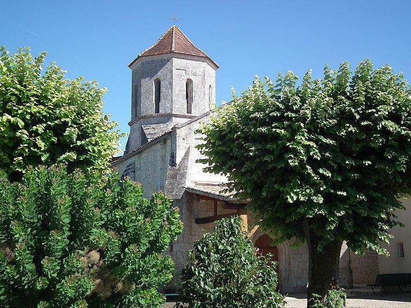 L'église de Clam