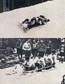 L'équipe suisse de bobsleigh (de Leysin), championne olympique en 1924 à Chamonix (G. à D. Scherrer, Neveu, et les frères Schlappi).jpg