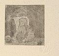 L'Ermite à la Tête de Mort (The Hermit with Skull) MET DP834249.jpg