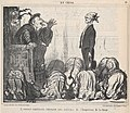 L'envoyé américain obtenant une audience de l'Empereur de la Chine...., from En Chine, published in Le Charivari, October 21, 1859 MET DP876780.jpg