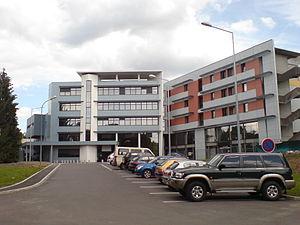 Lure, Haute-Saône - Image: L'hôpital de Lure