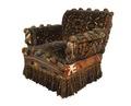 Länstol i rökrummet. Mattklädd - Hallwylska museet - 65206.tif