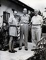 L.J. Bruce-Chwatt, Sir Gordon Covell and P.F. Russell. Photo Wellcome V0028090.jpg