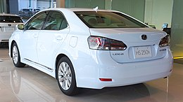 LEXUS HS250h 2013 rear japan.JPG
