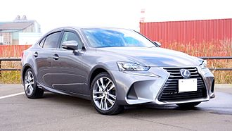 Luxury vehicle - The Lexus IS is an example of an entry-level luxury car