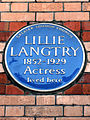 LILLIE LANGTRY 1852-1929 Actress lived here.jpg