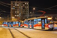 Moscow tramvay