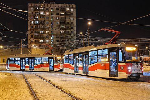 Подаренные Москвой трамваи появятся на улицах Курска к лету