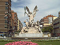 La Gloria y los Pegasos (Querol) Madrid 02.jpg
