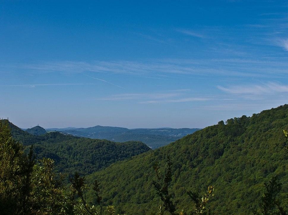 La Petite Montagne vue du Molard de la Justice, Jura, France