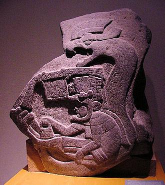 Feathered Serpent - Image: La Venta Stele 19 (Delange)