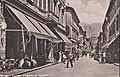La pasticceria Pazzaglia (primo edificio sulla sinistra, cartolina del primo '900).jpg