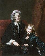 Lady M.E. Hamlyn Williams & Sir H. Drummond