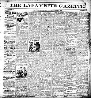 History of Lafayette, Louisiana