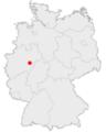 Lage der Stadt Meschede in Deutschland.png