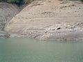 Lago Brugneto in periodo di siccità - panoramio.jpg