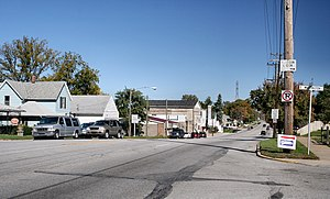 Lakeville, Indiana - Lakeville downtown