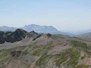 Lakmos mountain range