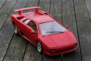 Bburago - Lamborghini Diablo in 1/18 scale.