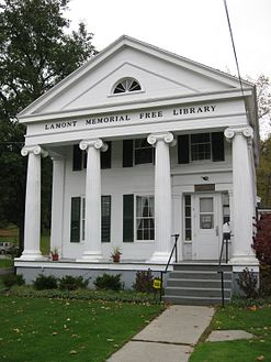 Lamont Library McGraw NY Oct 09.jpg