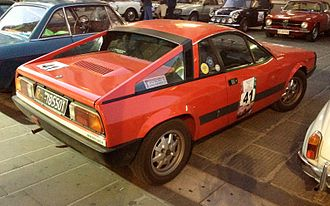 Lancia Montecarlo - A Lancia Montecarlo. Notice the new buttresses, Beta 14 inch alloy wheels and badging.
