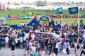 Land Rover at the 2012 Dubai Rugby Sevens (8242727229).jpg